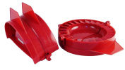 "Set of two 6"" Calzone Moulds - Enjoy Custom Made 4"" x 2"" Pocket Meals Any Time!"