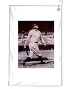 Babe Ruth Novelty Golf Towel Golfers Accessories Cleaning Tool