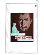 The White Zombie Novelty Golf Towel Golfers Accessories Cleaning Tool