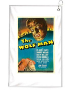 The Wolfman Novelty Golf Towel Golfers Accessories Cleaning Tool