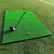 FORB Academy Golf Practise Mat (1.5m x 0.9m) – Roll Down Fairway Mat Lets You Practise Like The Pros [Net World Sports]