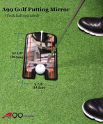 A99 Golf Putting Mirror Training Alignment New Aid Practise Trainer Portable