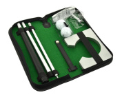 Neon Executive Gift Portable Golf Putter Set Kit with Ball Hole-Cup for Travel Indoor Golf Putting Practise