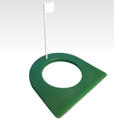 Golf Rubber Putting Cup Regular Size 11cm Hole and Flag