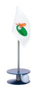 Anne Stone Golf Putt-A-Round Orange Birdie Flag 1 Putting Aid, Blue, Small