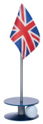 Anne Stone Golf Putt-A-Round UK Flag 1 Putting Aid, Blue, Small