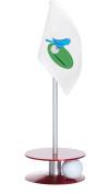 Anne Stone Golf Putt-A-Round Birdie Flag 1 Putting Aid, Red, Small