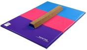 Tumbl Trak Sectional Beam & Bright Pastel Mat Combo