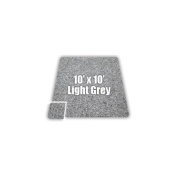 SoftCarpets Set in Light Grey Size