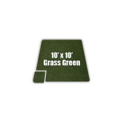 SoftCarpets Set in Grass Green [Set of 8] Size