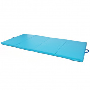 "Blue 1.2mx1.8mx2"" Gymnastics Gym Folding Exercise Aerobics Tumbling Karate Yoga Mat"