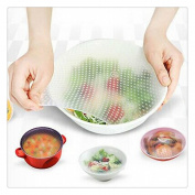 Buedvo 1pcs  .   Kitchen Tools Silicone Seal Cover Reusable Keep Food Fresh Plastic Wrap