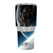 Skin Decal Vinyl Wrap for RTIC 890ml Tumbler Cup (6-piece kit) / Earth from Space