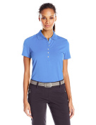 Callaway Women's Short Sleeve Opti-Shield 15 Ottoman Polo