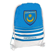 Official PORTSMOUTH FC blue home style gymbag