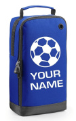 Personalised Football Boot Bag with Carry Handle - Football Themed -