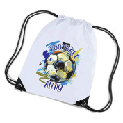 Personalised Football Gym / PE Bag. Perfect for School.
