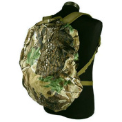 Waterproof Real Tree Camouflage Rucksack Backpack Rain Cover - Up to 45 Litres