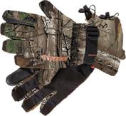 Manzella Womens Tracker Waterproof Glove Realtree Xtra Camo Medium