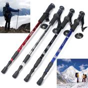 HOMEPRO Ultra-light Handle 3-section Adjustable Canes Walking Hiking Sticks Trekking Pol