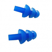 5PAIR(10PCS)Soft Silicone Waterproof Earplugs Swimmers Ear Plugs for Swimming or Sleeping Blue