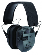 Walkers Game Ear Ultimate Digital Quad Connect Muff with Bluetooth, Black