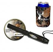 Extinguisher Deer Call (Black) with DVD Instructional + Free Camo Koozie