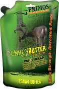 Primos Donkey Butter Peanut Flavoured Paste Attractant, 710ml Tube
