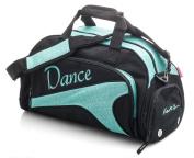 Girls Ladies Large Turquoise Dance Ballet Tap Kit Holdall Sports Bag KB76 Katz Dancewear