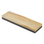 RH Preyda Combination Wide Bench Stone, Soft Arkansas and Hard Black Arkansas 8 x 7.6cm x 1.9cm