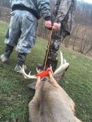 Leg Cuff XL Deer Drag