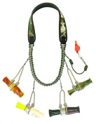 Heavy Hauler Outdoor Gear Limit Supreme Four Double Loop Lanyard, w/ whistle clip, Max 5