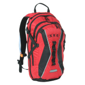 Sandpiper of California Gear Pack / Hydration Pack Xtended Traverse, Red