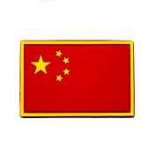 China Flag People's Republic of China PVC Morale Patch, Hook and loop Morale Patch by NEO Tactical Gear