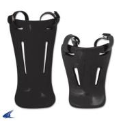 Champro Sports Throat Guards; Retail Pkg - 11cm ; Black Throat Guards