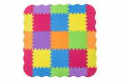 Foam Puzzle Play Mat with Borders Kids Multi-Colour Safe Baby Playground Soft Padded Floor Protection High Quality EVA Foam Interlocking Tiles Non-Toxic