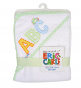Eric Carle Hungry Caterpillar Hooded Towel-Neutral
