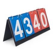 GOGO 4-digital Portable Table Top Scoreboard / Score Flipper 0-99