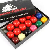 POWERGLIDE - 1 1/2 inch 38mm Kids Snooker Balls