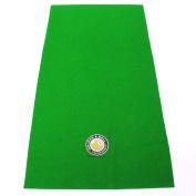Hainsworth Pool Table Racking Cloth - SMALL GOLDEN 8 BALL LOGO