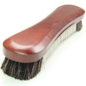 30cm Genuine Horsehair Black & White Bristle Snooker Pool Table Brush