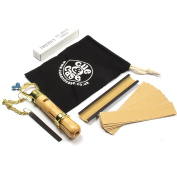Cue & Case Deluxe ELK MASTER 9mm Cue TIPPING KIT & Drawstring Cotton Bag