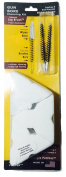 Cleaner Faster Kits, Cal 30, 308, 7.62, 7.5, Patented Nylon Bore Brushes and Patches, by BoreSmith