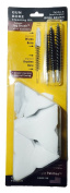 Cleaner Faster Kits, Cal 22, 30, 35, 45, Patented Nylon Bore Brushes and Patches, by BoreSmith
