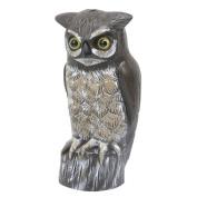 Garden Plus 36cm H Bird Repelling Owl Statue