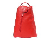 """Backpack, Made in Italy, cool elegance, smaller City backpack made of cowhide, (W x H x D) 27 × 31 × 12 cm """"Key West"""""""
