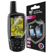 Garmin GPSMAP 62 ( 2 units ) Screen Skin Protector Shield Ultra Clear + Lifetime Replacements