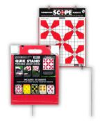 Quik-Stand Durable Shooting Target Stand & 10 Quality 38cm x 48cm Paper Targets