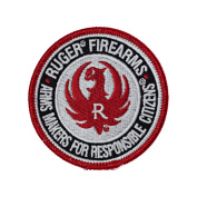 RUGER Arms Maker for Responsible Citizens Embroidered Patch SR9 SR45 1911 LCP