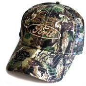 Ford Oval Camo Twill Mesh Hat